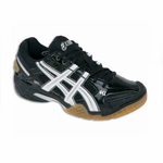 Asics Gel Domain 2 Squash / Court  Shoes, Black / White