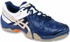 last few - Asics Gel-Domain 3 Men's Squash / Indoor Court Shoes, Navy