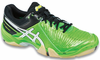 Asics Gel-Domain 3 Men's Squash / Indoor Court Shoes, Neon Green