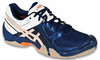 Asics Gel-Dominion Men's Squash / Court Shoes, Navy / Silver / White, SIZE 12