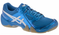 Last few - Asics GEL-Dominion Women's Court Shoe, Diva Blue/White, SIZE 9