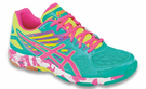 Last few - Asics Gel-Flashpoint 2 Women's Court Shoes, Atlantis Blue / Pink, SIZE 9