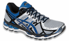 Asics Gel-Kayano 21 Men's Running Shoes, Lightning / Royal / Black