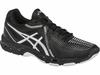 Asics Gel Netburner Ballistic Men's Court Shoes, Black / Silver