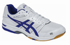 last few - Asics Gel-Rocket 7 Men's Court Shoes, White, SIZE 13