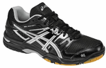 Asics Gel Rocket 7 Women's Court Shoes, Onyx / Silver