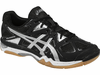 ASICS Gel-Tactic Men's Court Shoes, Black/Onyx/Silver