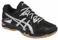 ASICS Gel-Tactic UNISEX Court Shoes, Black / Silver