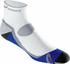 Asics Kayano Classic Quarter Socks, 1-pack, White/Iron/Fresh Blue/Frost