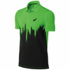 Asics Resolution Polo Shirt, Neon Green