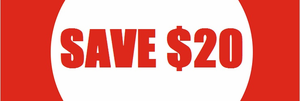 Biggest Sale Ever: SAVE $20 per racket!