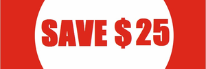 Biggest Sale Ever: SAVE $25 per racket!