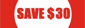 Biggest Sale Ever: SAVE $30 per racket!