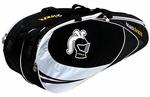 Black Knight Double Gear Racquet Bag