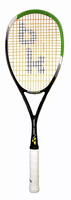 Black Knight Great White Demon Doubles Squash Racquet, no cover
