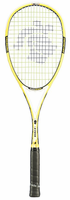 Black Knight Ion X-Force Yellow Squash Racquet, with cover