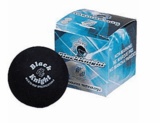 Black Knight Tru-Bounce Double Yellow Dot Squash Ball
