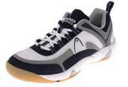CLOSEOUT - Head Games Indoor Low Men's Shoes, White/Navy