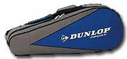 Dunlop 6 racquets Thermo Bag, Grey / Blue
