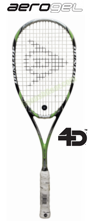 Dunlop Aerogel 4D Elite Squash Racquet, no cover