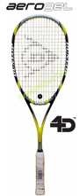 sold out - Dunlop Aerogel 4D Ultimate Squash Racquet, no cover