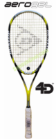 Dunlop Aerogel 4D Ultimate Squash Racquet, no cover