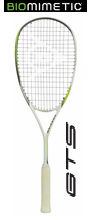 Dunlop Biomimetic Elite GTS Squash Racket, no cover