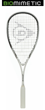 Dunlop Biomimetic Evolution HD Doubles Squash Racquet, no cover