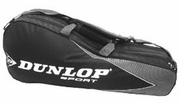 Dunlop International Team 10 racquets Thermo Bag, Black / Grey