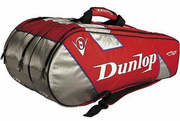 Dunlop M-fil 10 Racket Bag, Red