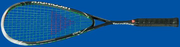 Free ground shipping - Tecnifibre Carbiothane 140 TF Squash Racquet