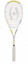 Harrow Vapor Squash Racquet, White / Royal / Yellow
