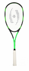 2017 - Harrow Vibe Squash Racquet, Black / Lime