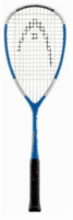 CUSTOM STRUNG - Head Liquid Metal 120 Squash Racquet