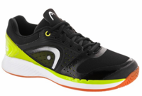 Head Sprint Pro Court Men's Shoes, Black/Lime
