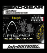 Head Squash Intellistring, 17g, white, SET