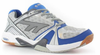 Hi-Tec Indoor Lite Court Men's Shoes, Silver / Blue / Navy, SIZE 12