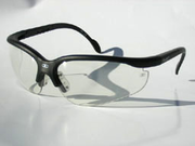 I.X. Optical Fanatic Squash / Racquetball Goggles, silver frame