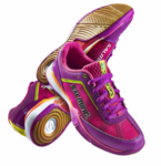 Last few - Salming 2016 Viper 2.0 Women's Court Shoes, Pink / Purple, SIZE 10.5