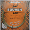 Luxilon Ace Squash String, 19g, SET