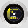 NEW - Ashaway MultiNick Squash String, 18g, Black, REEL