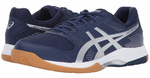 best seller -  Asics Gel-Rocket 8 Men's Indoor Court Shoes, Indigo Blue/ Silver / White