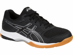 Asics Gel-Rocket 8 Women's Indoor Court Shoes, Black / White
