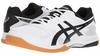 Asics Gel-Rocket 8 Men's Indoor Court Shoes, White / Black /Silver