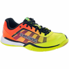 Salming Viper 4 Junior Court Shoes, Yellow/Orange