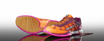 Salming Viper 4 Women's Court Shoes, Purple/Orange