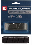 new -> Wilson Micro-dry Squash / Badminton Replacement Grip, 1-pack