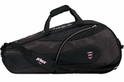 Prince Contempo 6 Rackets Bag, Black with pink