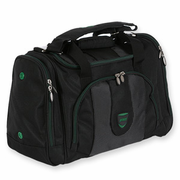 Prince Contempo Club Racket Bag, Black with Green