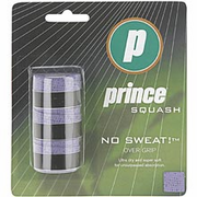"Prince ""No Sweat"" Overgrip, White, 3-pack"